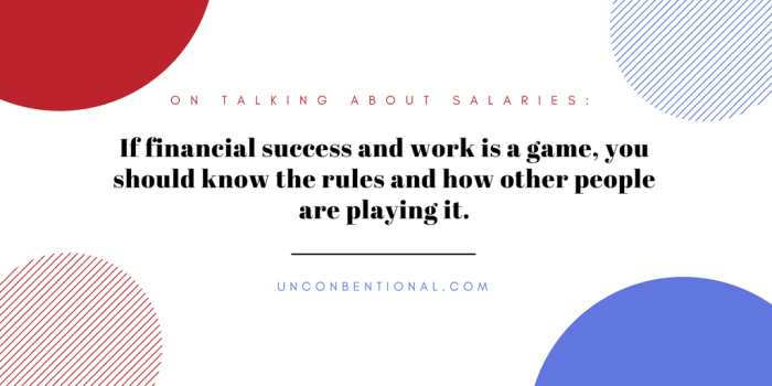 if financial success and work is a game,